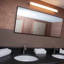 Infrarot-Spiegelheizung 210W Alurahmen premium B