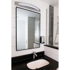 Infrarot-Spiegelheizung 320W Alurahmen premium