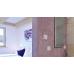 Infrarot-Spiegelheizung 500W lang Alurahmen standard