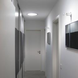Infrarot-Spiegelheizung 500W Alurahmen standard